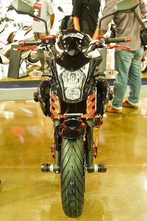 BANGKOK - MARCH 27: Kawasaki on display at The 33th Bangkok International Motor Show on March 27, 2012 in Bangkok, Thailand. Stock Photo - 13226441