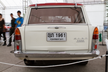 Bangkok June 24 Fiat 2300 Wagon Vintage Cars On Display