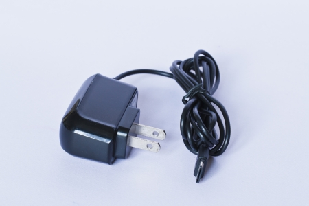 a mobile phone charger photo