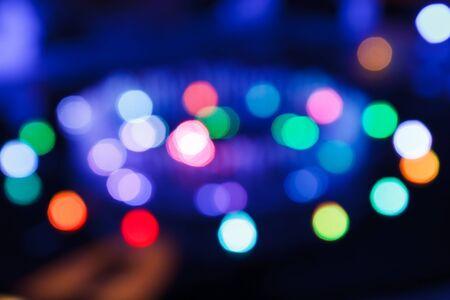 Light bokeh blur  photo