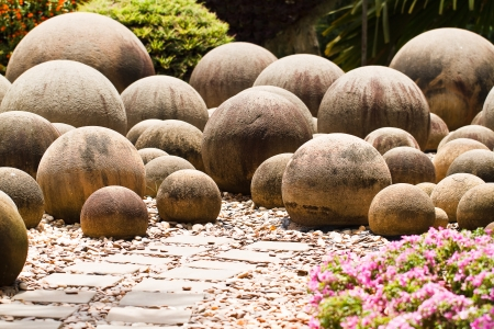 rock in garden Stock Photo - 23652322