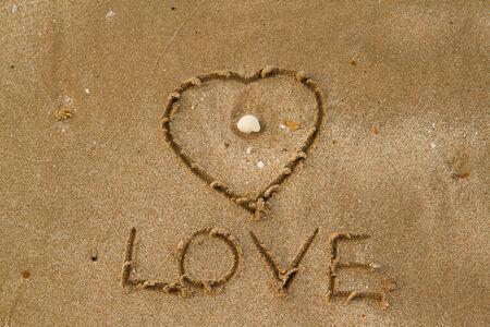 valentine s day beach: love on the sand