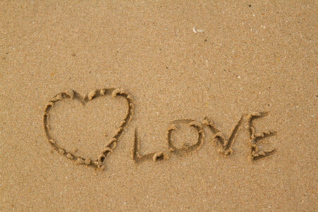 love on the sand photo