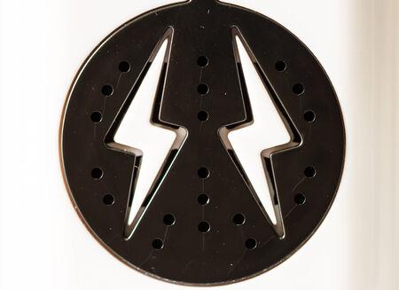 electroshock: Lightning symbol