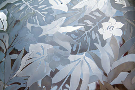pattern on glass 版權商用圖片 - 28879297