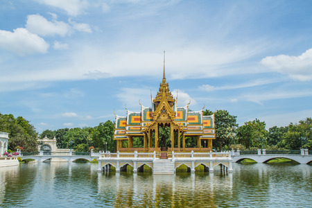 Bang Pa-In Palace of in Thailand photo