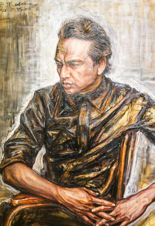 BANGKOK - DECEMBER 6: art exhibit his Kho Yai art  Museum in Bangkok on December 6, 2014 in Bangkok.