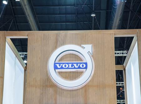 demonstrated: Bangkok, Thailand - April 4, 2015: Booth Volvo Car presenter demonstrated in 36 Bangkok International Motor Show on April 4, 2015. Editorial