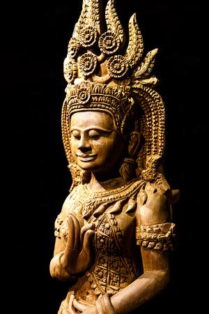 cambodia: Cambodia wood carving art