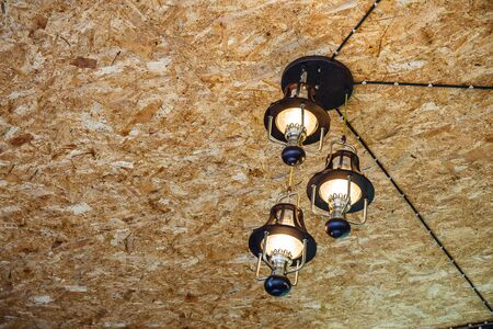 recessed: Recessed ceiling lights in room