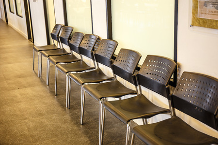 list of successful candidates: Row chairs for waiting rooms