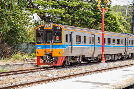 wood railways: Hua Hin railway station is a famous place for popular tourist attractions,because its a place to conservation of ancient architecture.