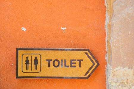 plublic toilet sign photo