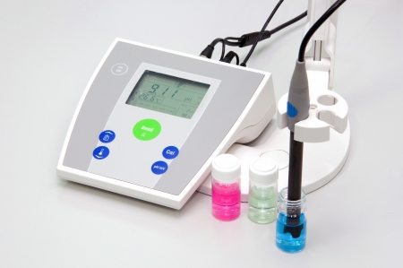 ph: pH meter to measure the acidity-alkalinity of liquids