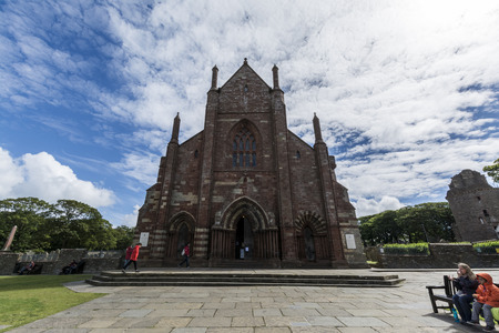 Kirkwall St. Magnus Cathedral, Orkney islands Stock Photo