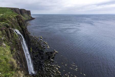 Kilt rock view Isle of Skye