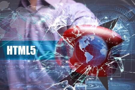 html5: Business, Technology, Internet and network security. HTML5