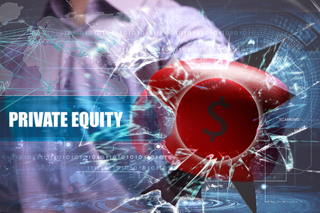 Business, Technology, Internet and marketing. Private equity