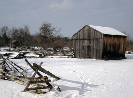 Wintertime In The Country photo