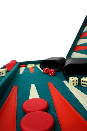 doubling: Backgammon Over White