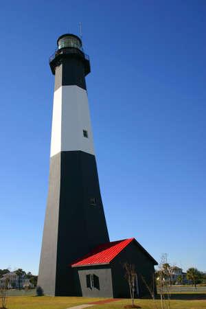 tybee island: Tybee Island Lighthouse Stock Photo
