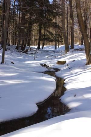 winters: Winters Creek Stock Photo