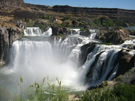 Shoshone Falls in Idaho. photo