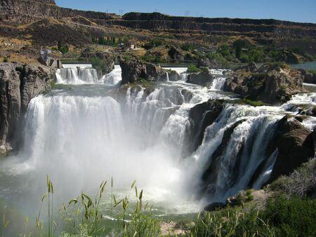irrigation: Shoshone Falls in Idaho.