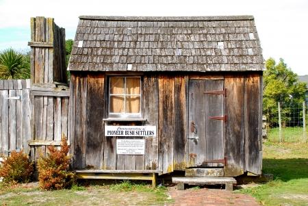 Pioneer hut Stock Photo