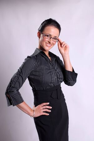 Attractive young business woman Stock Photo - 17464254