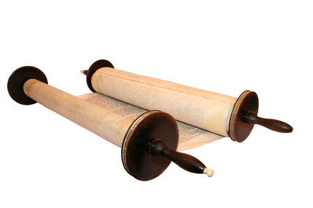 Torah, die ersten und wichtigsten Stelle von der Tanach, der Hebräischen Bibel.