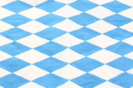 blue and white Bavarian diamond pattern as a background photo