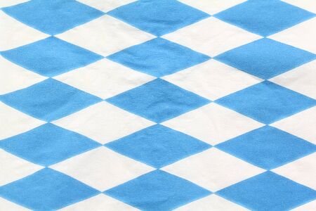 Bavarian blue-white diamond pattern as a background photo