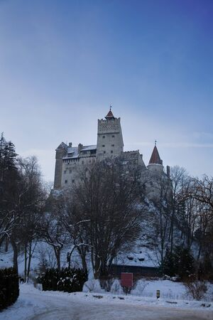 Dracula (Vlad Tepes) castle in Bran, Romania, Transylvania area  photo