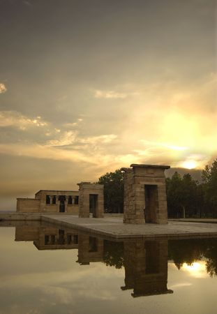 Temple of Debod in Madrid 2