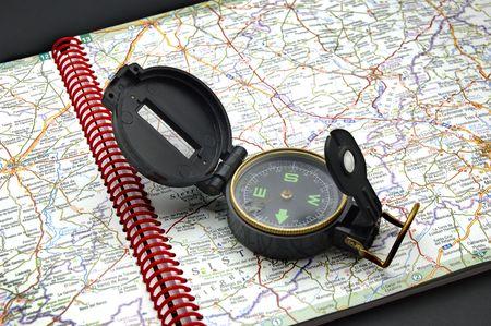 compass map: Compass & map