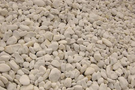 fondo textura piedra blanca de rio - texture river white stone Stock Photo - 588071