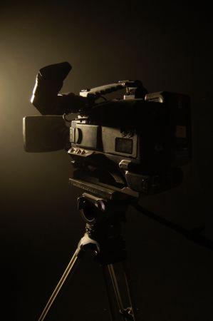 TV Camera in tripod