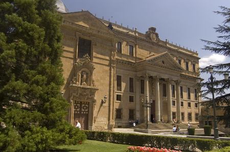 Anaya Palaca and Greater School of San Bartholomew. Salamanca, Spain