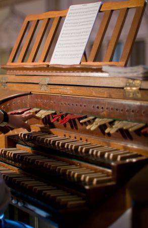 chóralne: Klawiatury narządów Classic i klucze do zmiany instrumentu Zdjęcie Seryjne