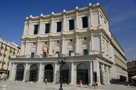 Teatro Real en Madrid - Royal theatre in Madrid