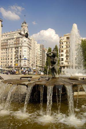 Plaza de Espa�a, Madrid in Spain
