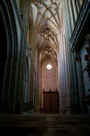 East Nave of Santa Maria Cathedal of Astorga. Astorga. Castilla y Leon, Spain photo