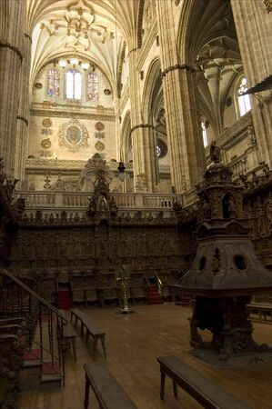 cristian: Choir of the New Cathedral of Salamanca. Spain Editorial