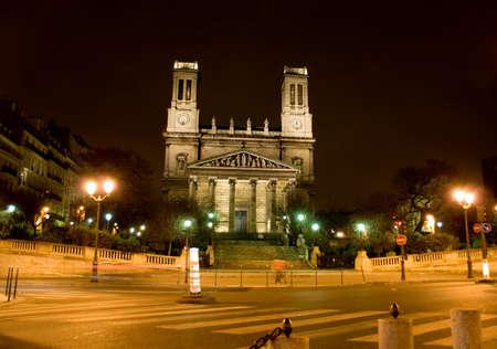 liszt: Saint Vincent de Paul Church in Place Franz Liszt, Paris, France