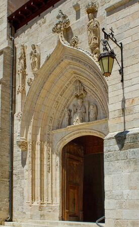 Church of St. Nicolas de Bari, Burgos, Castilla y Leon. Spain Stock Photo - 14968973