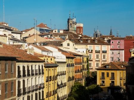 La Latina neighborhood in Madrid, Spain