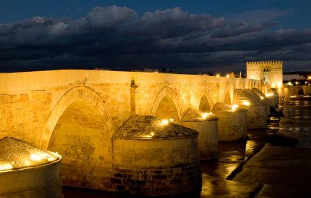 cordoba: Roman bridge of Cordoba. Andalusia, Spain