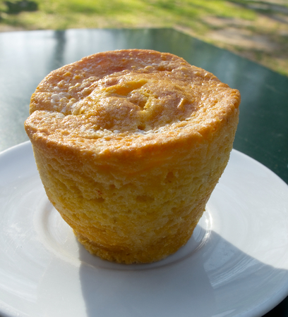 typical: Pasteis de laranja, typical portuguese. Stock Photo