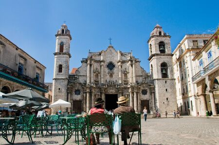 christopher: Cathedral of Saint Christopher in La Habana. Cuba